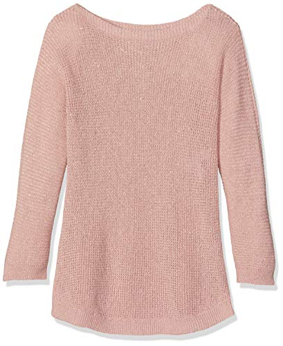United Colors of Benetton United Colors of Benetton Mädchen Sweater L/s Pullover, Pink (Rosa 68c), One Size (Herstellergröße: Medium)