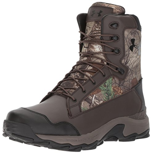 Under Armour Men's Tanger Waterproof Ankle Boot, Realtree Ap-Xtra (946)/Maverick Brown, 8
