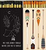 Decorative Matches Camping and Paddles Match Boxes with Long Kitchen Matches Great for Lig...