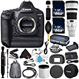 Canon 6Ave EOS-1D X DSLR Camera International Version (No Warranty) EF 500mm f/4L is II USM Lens + Battery Grip + LP-E6N Replacement Lithium Ion Battery Bundle