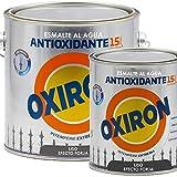 Titanlux - Esmalte antioxidante Titan Oxiron al agua Liso efecto forja, Negro, 750ML (ref. 01E420434)