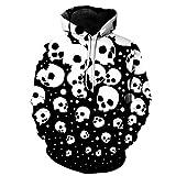 Hoodie Sweatshirt Herren,Kapuzenpullover Oversized Langarm Mit Kapuze Sweatshirt Jungen Hoodies mit Tasche Unterhaltung Shirt Festival Party Kleidung Hoodie Cardigan