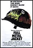 Close Up Full Metal Jacket Poster Helmet (101x71 cm)