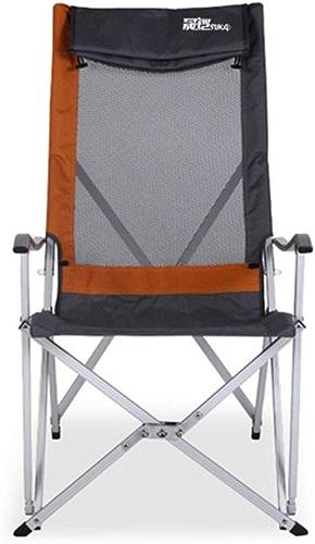 Kamiwwso Chaises Pliantes portatives de Camping de Camping pour la randonnée pêche Camping (Couleur   Orange)