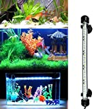 3 LIGHTING MODES: The white, the bule or the white & blue light brings out the color of everything in tank,creates a wonderful aquascape. It is the best choice for main light, accent light,or replacement aquarium hood light. WATERPROOF AND EASY TO MO...