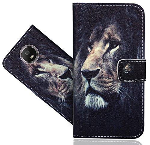 Motorola Moto G5S Handy Tasche, FoneExpert® Wallet Hülle Flip Cover Hüllen Etui Hülle Ledertasche Lederhülle Schutzhülle Für Motorola Moto G5S