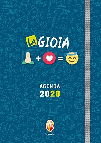 Agenda giornaliera tascabile 2020. La gioia | 10.5 x 15 cm