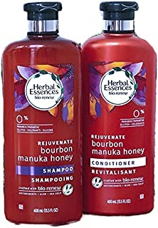 Herbal Essences Bio: Renew Bourbon Manuka Honey Shampoo And Conditioner Hair Care Set