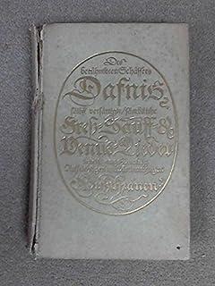 Dafnis. Lyrisches Portrait aus dem 17. Jahrhundert. 11.-20. Tausend.