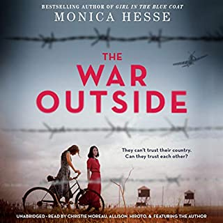 The War Outside audiobook cover art