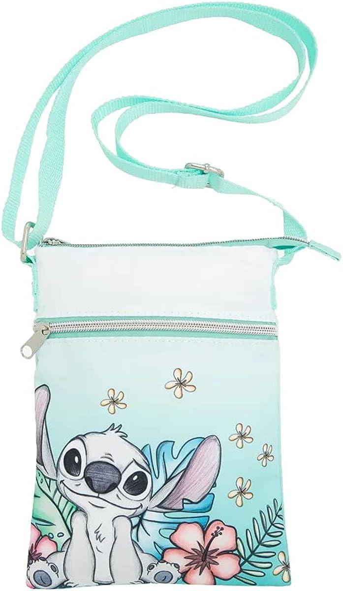 Loungefly Disney Lilo & Stitch Tropical Sketch Passport Crossbody Bag