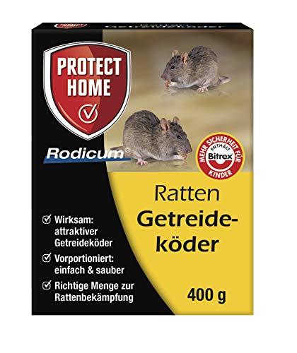 Köder-Discount: Rodicum Ratten Getreideköder 400g mit Warnaufkleber (1 x 400g)