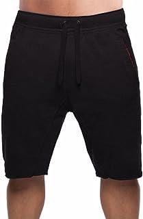 BROKIG Mens Bodybuilding Gym Shorts, Workout Running Sweat Short with Pockets