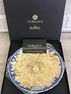 Versace by Rosenthal Plate 17cm / 6.6 in Medusa Rhapsody Blue New