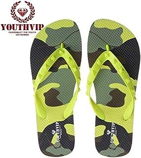 Grossartig 2020 Summer EVA Flip Flops Beach Flip Flops Sandals for Male Female (Color : LEMON, Size : 37-38)