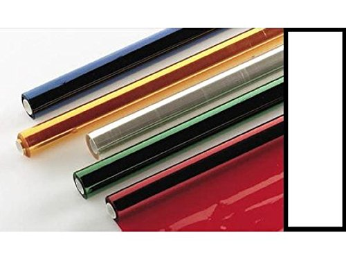 Papel Celofan 25 Hojas Transparente 50x65cm=050009=