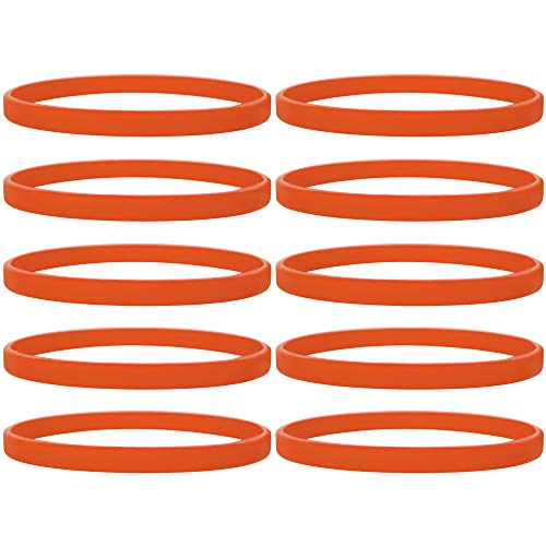 4 or 5PCS Assorted Color AMIC Silicone Wristband Bracelet