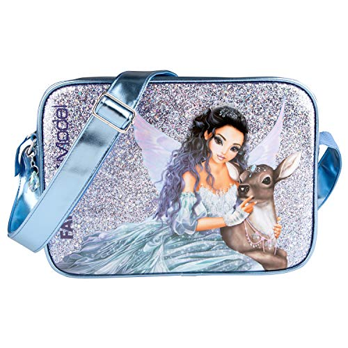 Depesche 10693 – Bolso bandolera, Fantasy Model Iceprincess, aprox. 10 x 24 x 34 cm, color azul