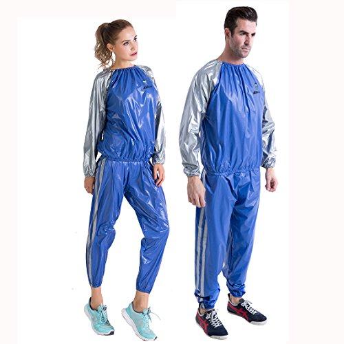 La Femme Short Fitness Costume De Sweat Sauna Sudation Combinaison Sport Gym Minceur Vêtements De...