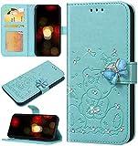 Robinsoni Custodia Compatibile con Samsung Galaxy S10e Case PU Pelle Portafoglio Scintilla...