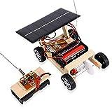 VGBEY El Coche Teledirigido Solar de DIY, Juguetes Teledirigidos Inalámbricos Educativos Ensambló El Sistema Solar Montado En Coche del Coche