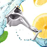 Premium Quality Metal Stainless Steel Manual Fruit Juicer, Lemon Orange Squeezer, Manual Fruit Press Squeezer, Hand Juicer Kitchen Tool