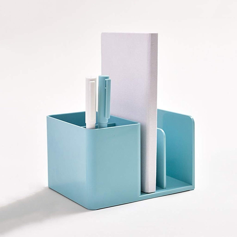 YUAN Stifthalter Aufbewahrungsbox Desktop Kreatives Briefpapier Student B&uu ;robedarf Dekoration Lagerung Stifthalter (Farbe   A) B07P3JFPPG | Ästhetisches Aussehen