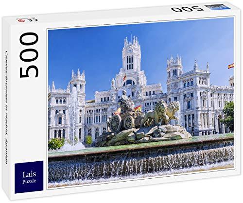 Lais Puzzle Cibeles-Brunnen in Madrid, Spanien 500 Teile