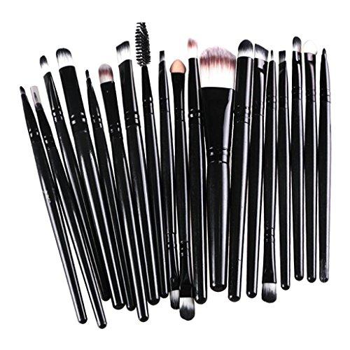 21pcs Pinceaux Fard à Paupières Eyeshadow Teint Poudre Kabuki Facial Eye Brush