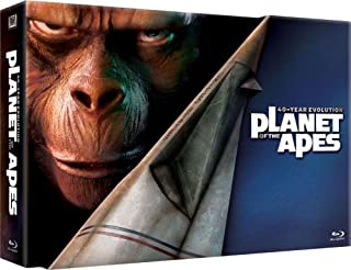 Planet of the Apes 40th Anniversary Collection (Planet of the Apes / Beneath the Planet of the Apes / Escape From / Conquest of / Battle for) [Blu-ray] (B001G7PX80) | Amazon price tracker / tracking, Amazon price history charts, Amazon price watches, Amazon price drop alerts
