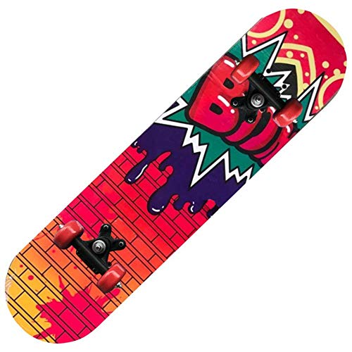 IDE Play Osprey Kinder Skateboard, 24-Zoll-Doppel Kick-Skateboard für Anfänger mit Maple Deck, für Jungen und Mädchen, Multiple Designs,1