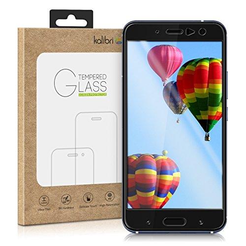 kalibri Echtglas Displayschutzfolie kompatibel mit HTC U11 - Glas Schutzfolie Glas Schutzglas Glasfolie