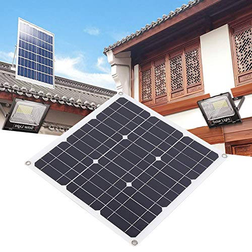 Naroote Solarpanel, tragbares 30W tragbares Flexibles monokristallines Silizium Solarpanel Kit zum Laden von Batterien