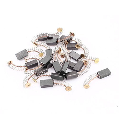 Viudecce Power Tool Replacement Motor Carbon Brushes 14mm x 8mm x 5mm 20 Pcs
