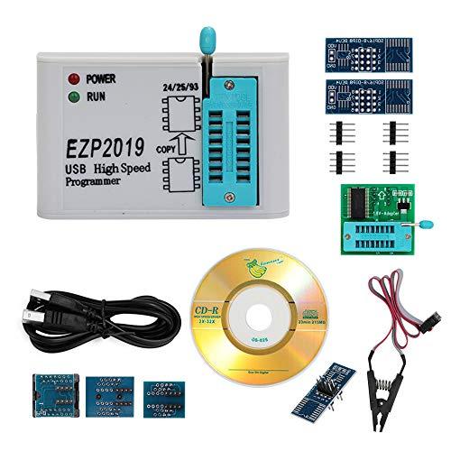 KKmoon EZP2019 Programador SPI USB de alta velocidad Mejor que EZP2010 EZP2013 Compatibilidad 32M Flash 24 25 93 EEPROM 25 bios flash Win7 Win8