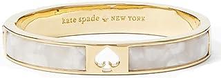 Kate Spade New York 'Hole Punch Spade Hinge Bangle' Pearl...