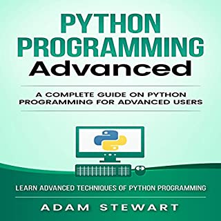 Python Programming Advanced audiobook cover art