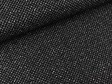 Swafing Edler Woll Tweed Alberto schwarz-grau
