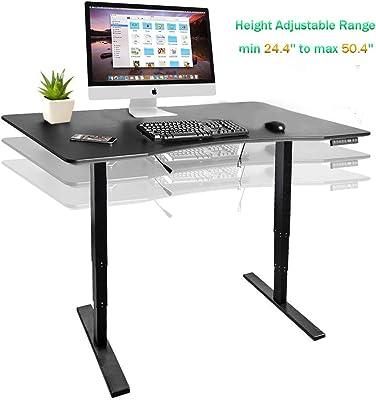 Amazon.com: Computer Gaming Desk with Large Carbon Fiber