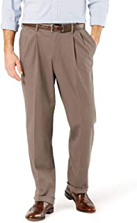 Dockers Men's Comfort Khaki Cuffed Pant - Pleated