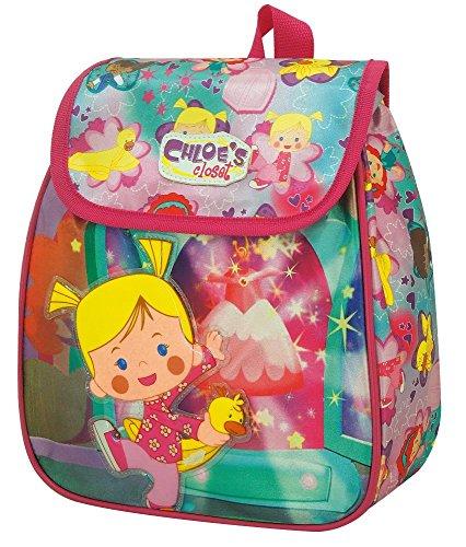 Chloe's Closet Magic Mochila Infantil con Solapa, Multicolor