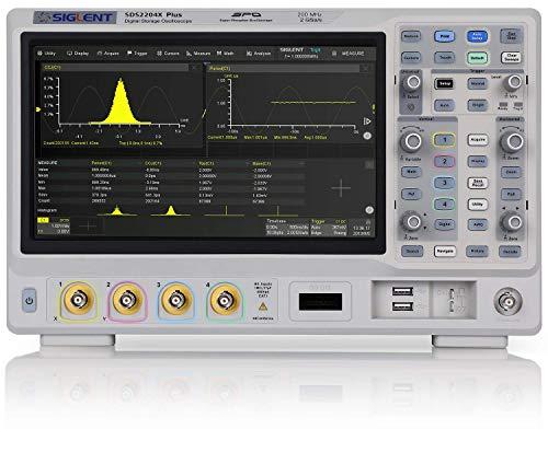 SIGLENT SDS2204X+ 4ch 200MHz 2GSa/s オシロスコープ