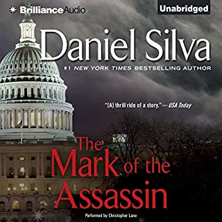 The Mark of the Assassin audiobook cover art