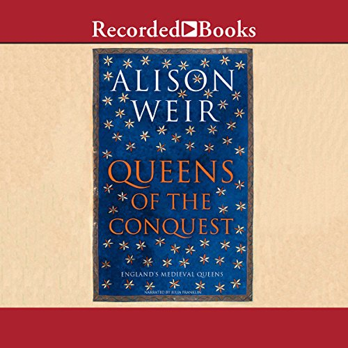 Queens of the Conquest audiobook cover art