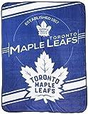 The Northwest Company NHL Toronto Maple Leafs 'Stamp' Raschel Throw Blanket, 60' x 80' , Blue