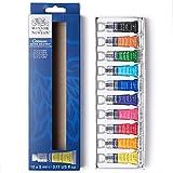 Winsor & Newton Cotman Set iniciación acuarela 10x5ml, Multicolor, 10 colores tubos de 5ml