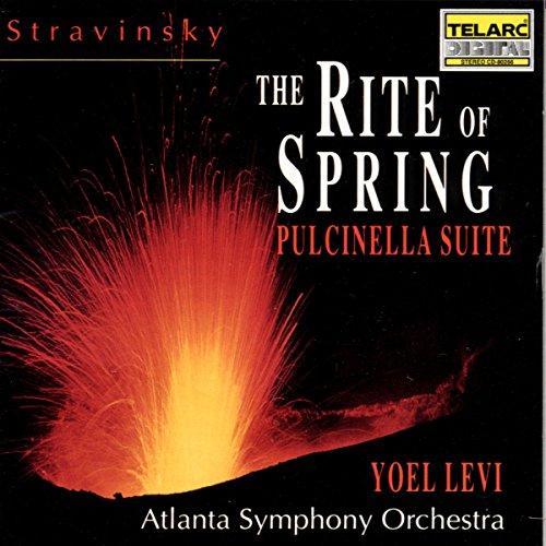 Price comparison product image Stravinsky: The Rite of Spring / Pulcinella Suite
