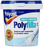 Polycell PLCMPPR1KGS Multi-Purpose Polyfilla Ready Mixed, 1 Kg