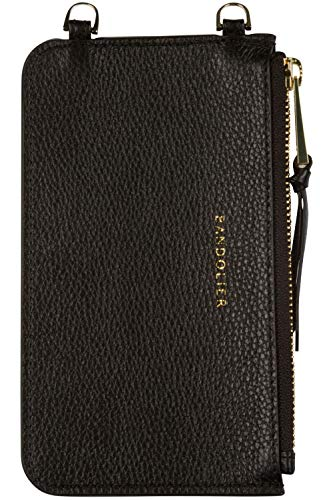 Bandolier Emma Zip Pouch - Black/Gold - Phone Case & Strap Sold Separately