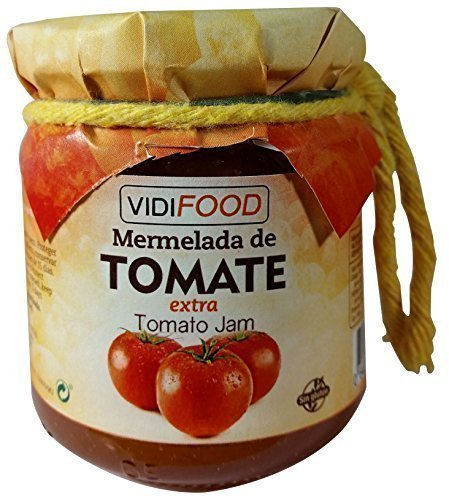 Mermelada Extra Artesanal de Tomate - 210 g - Procedente de España - Casera & 100% Natural
